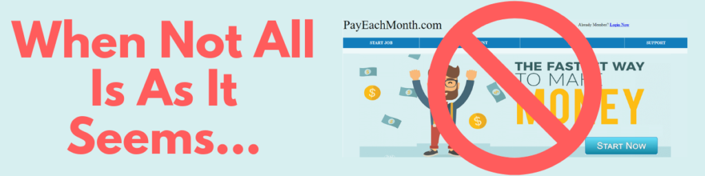 Pay Each Month Scam Review