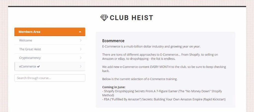 club heist scam