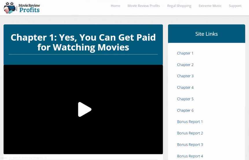 movie review profits review