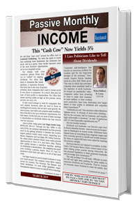 passive monthly income financial newsletter