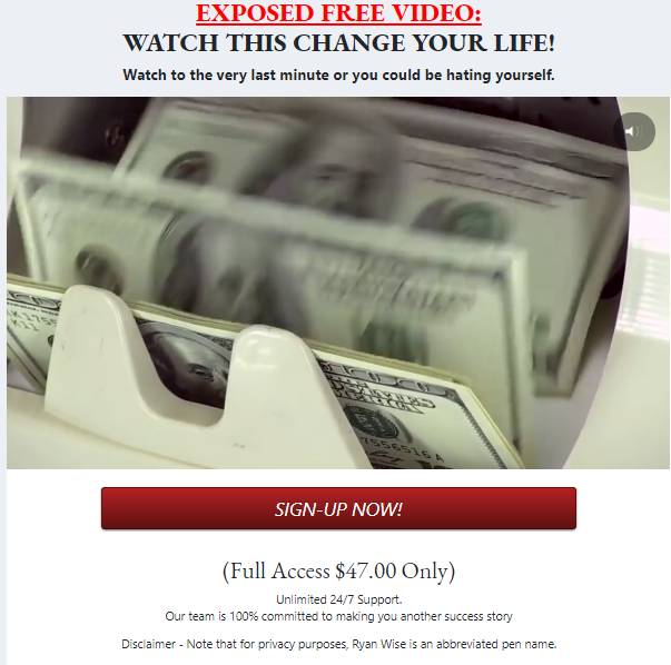 what is easy retired millionaire a scam or legit