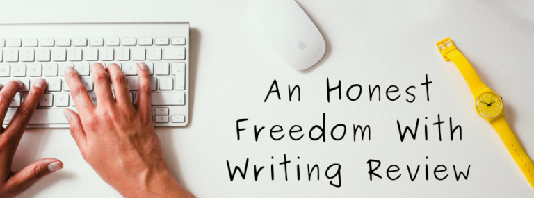 Is Freedom With Writing A Scam Or Legit Review