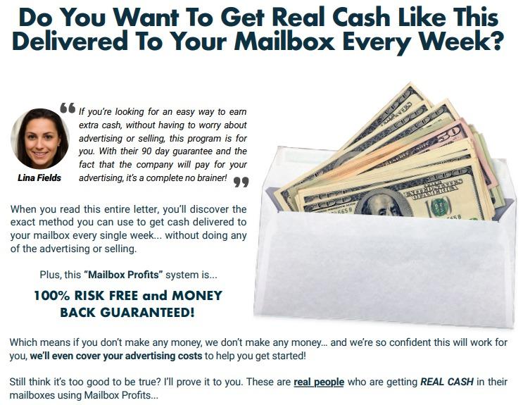 mailbox profits scam