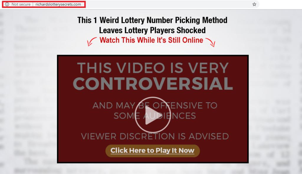 richards lottery secrets homepage