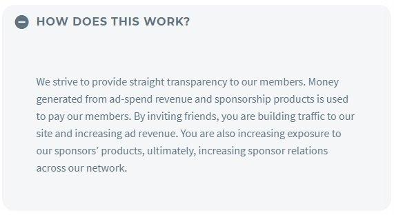 how influencer cash works