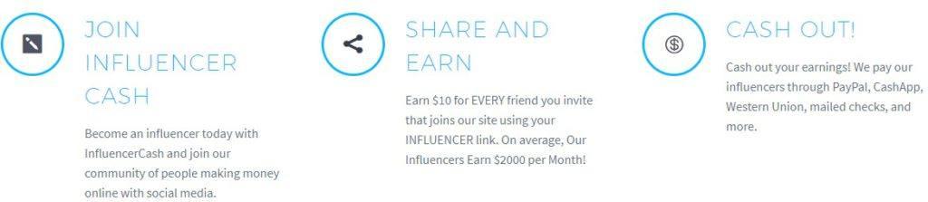 influencer cash scam or legit review