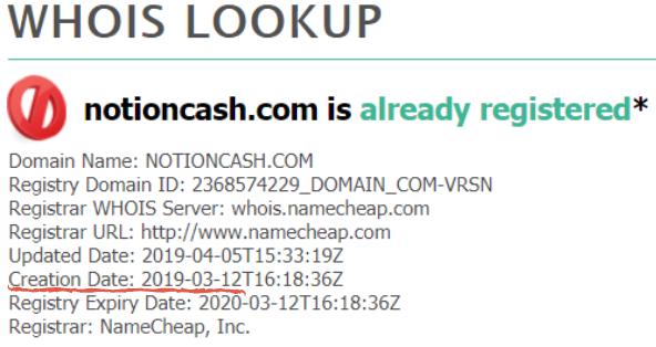 notioncash scam reviews