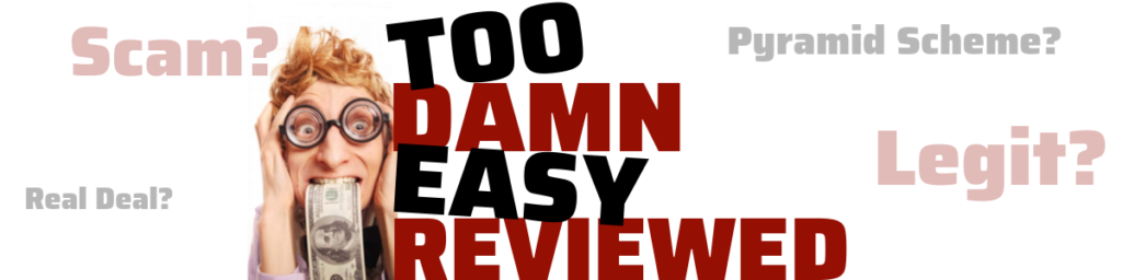 too damn easy review is too damn easy a scam