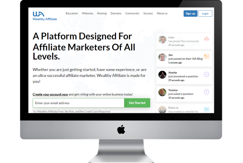 wealthy affiliate the best affiliate marketing training for beginners