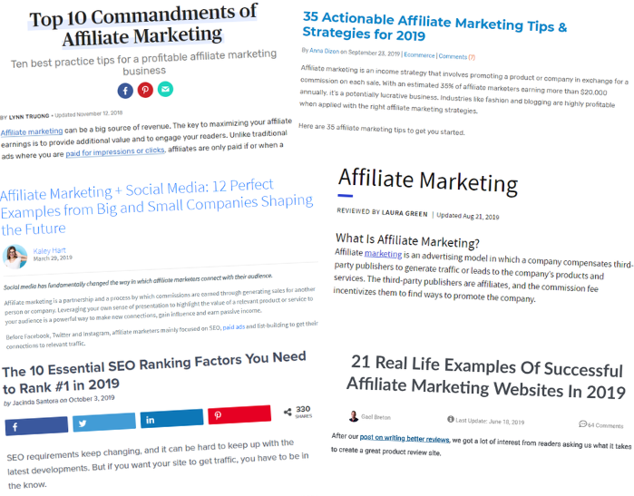 why many aspiring affiliate marketers fail