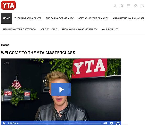 The YTA Method Members' Area