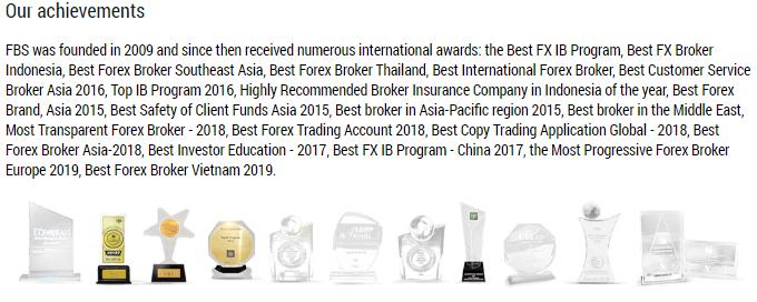 FBS Achievements