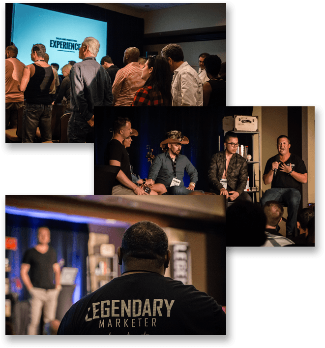 legendary marketer events and experiences