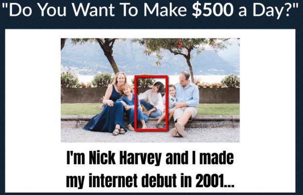 Website ATM Nick Harvey