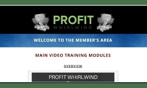 Profit Whirlwind Members' Area