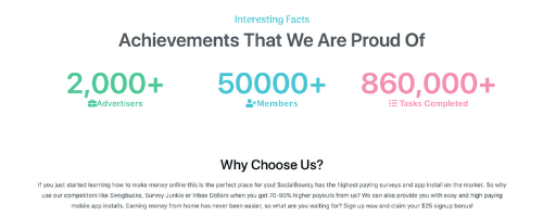 Social Bounty Fabricated Facts