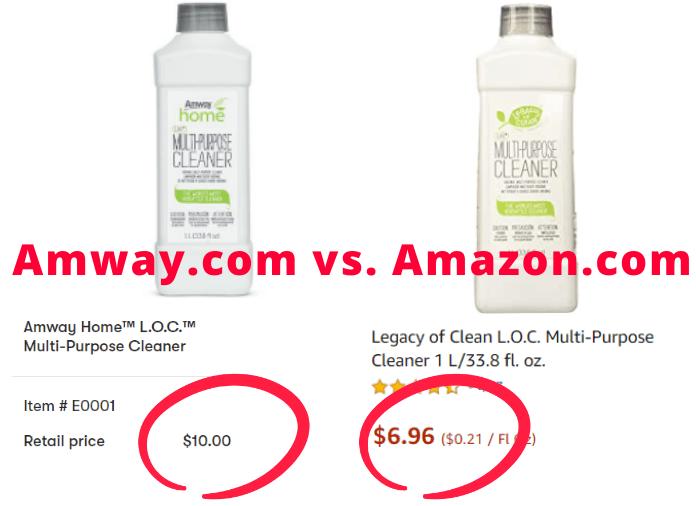 amway vs amazon
