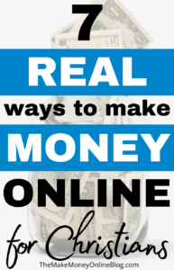ways for christians to make money online