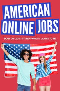 American Online Jobs Review Scam or Legit