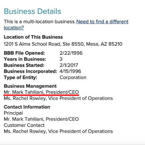PureTrim BBB.org Business Details