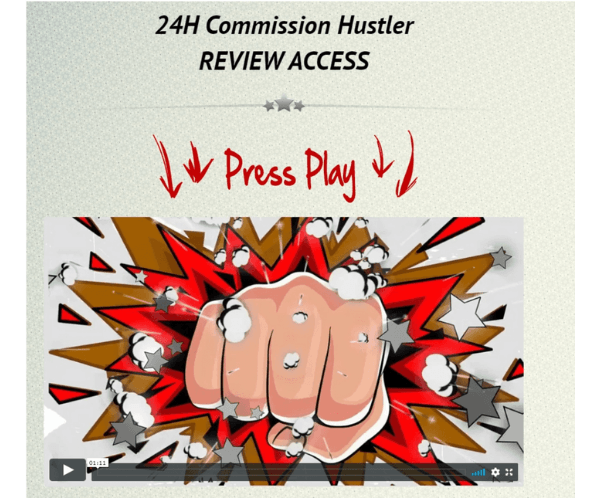 24h Commission Hustler Members' Area