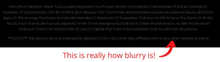 Commission Hotshot Blurry Disclaimer