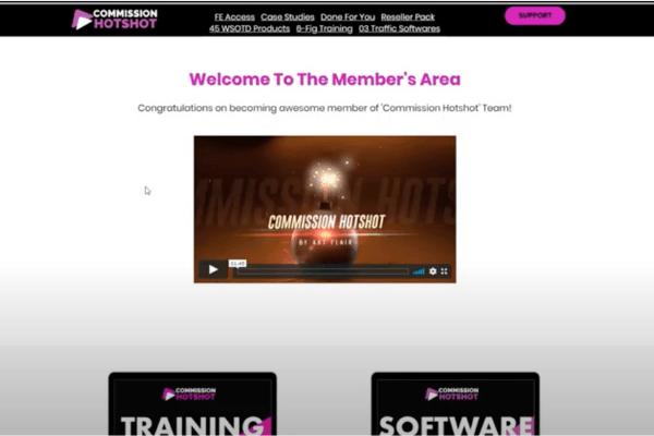 Commission Hotshot Members' Area