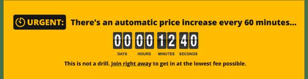 Shuffle Pro Fake Countdown Timer