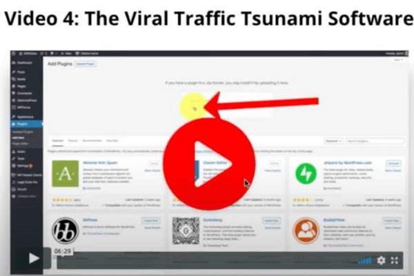 The Secret Page Viral Traffic Tsunami Software