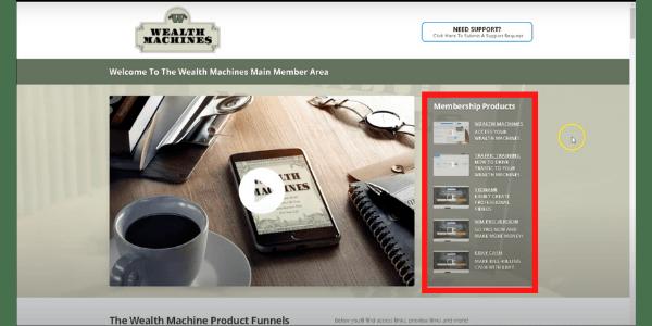 Wealth Machines Members' Area