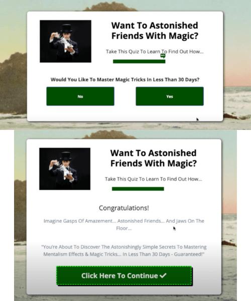 Preequell Magic Tricks Quiz