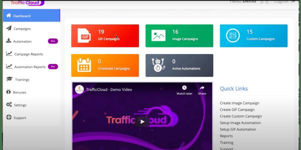 Traffic Cloud Dashboard