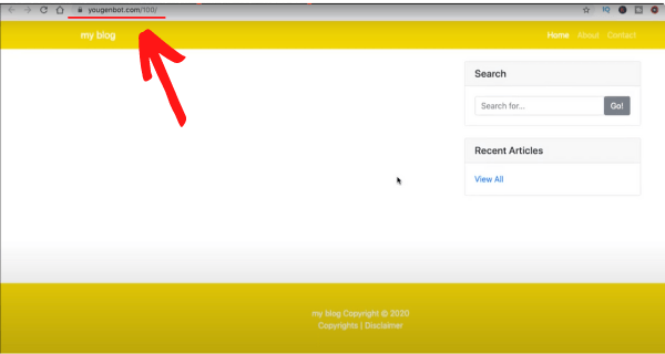 You Gen Bots Dull Website