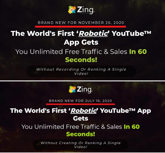 Zing Fake Launch Date