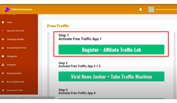 Affiliate Traffic Lab Free In Vidcommissions