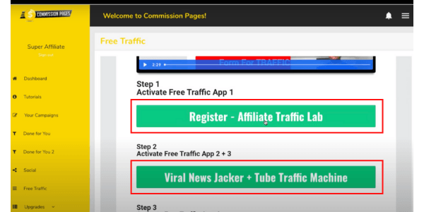 Commission Pages Additional Traffic Sources