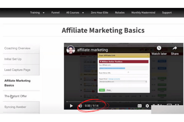 Project Profit Academy Affiliate Marketing Basics