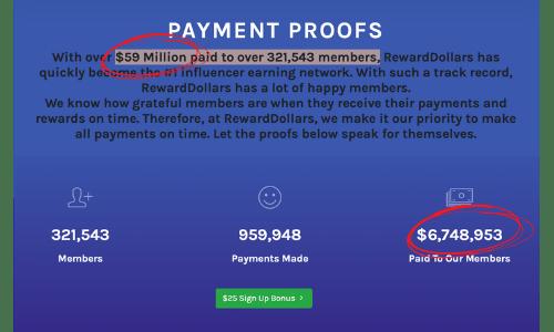 Reward Dollars Payout Mistake
