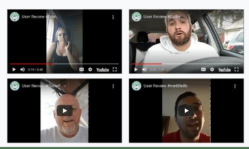 Reward Dollars Fake Video Testimonials