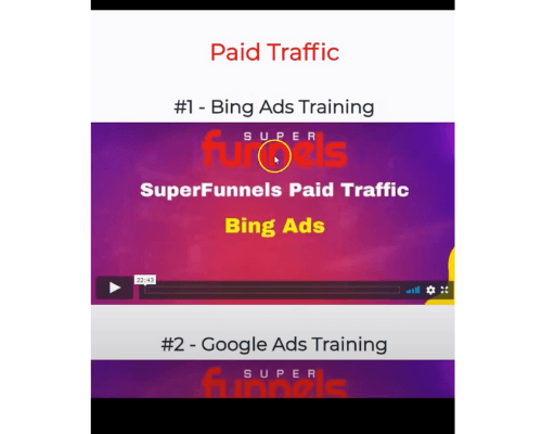 Super Funnels Paid Traffic