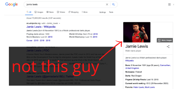 Hi welcome to my review of Jamie Lewis. Today we're going to find out if he's a scam or not.  If you're not familiar with him yet, once you Google the name, you'll find a Welsh darts player with the same name. No, he is not one and the same Jamie Lewis we're going to talk about today.  The Jamie Lewis we're going to discuss today is the internet marketer and course creator.   We're going to know who he is and talk about 4 of the courses he created. This will give us a good idea of what kind of internet marketing guru he is and if he's the kind of guy you can trust.   After all, if you've taken interest in Jamie Lewis, you're also probably interested in one or a few of his courses.   Come to think of it, the money you're planning to pay for his course is an investment for your online income goals. If you're here to find out if you're investing in the right person, then 2 thumbs up for you.   The internet is flooded with money-making gurus overpromising things to try and get into your pockets. Once they do, you'll realize they can't put anything back in and your money is gone with the wind.   I definitely want to avoid that happening to you so today you're going to know Jamie Lewis for who he really is.   If you're ready, then let's dive right in!
