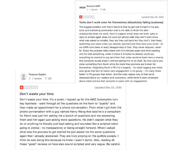 AMZDFY Trustpilot Bad Reviews