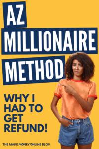 AZ Millionaire Method Review Scam or Legit