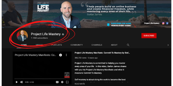 Affiliate Marketing Mastery Owner YouTube Channel