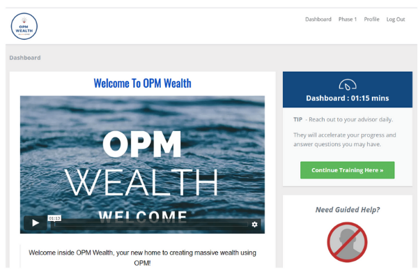 Digital Veteran Blueprint OPM Wealth Training