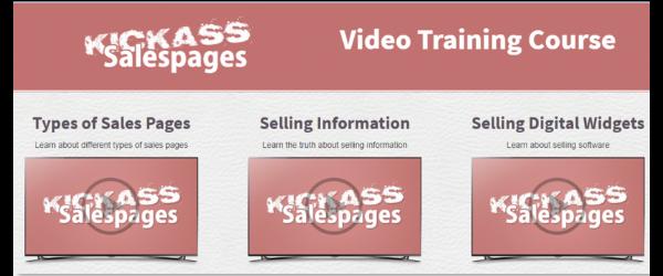 My Unfair Advantage Sales Page Training Videos