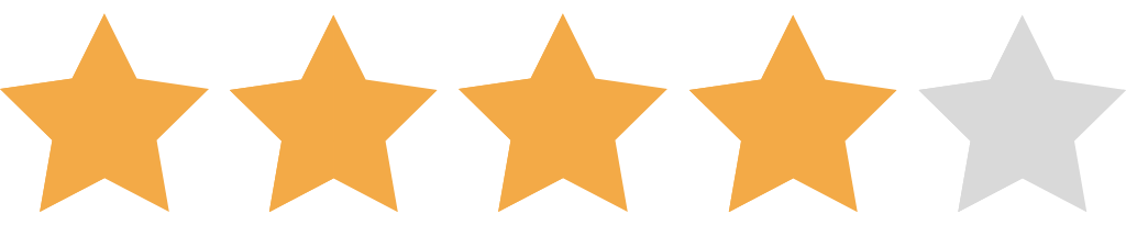 4 Star Rating NEW