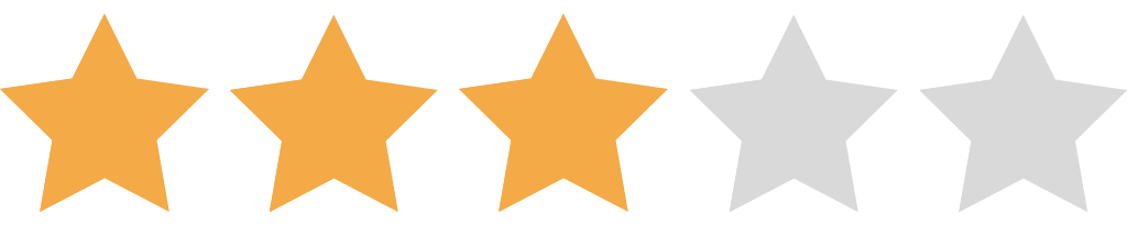 3 Star Rating NEW