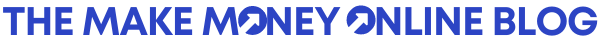 The Make Money Online Blog Logo Purple Small