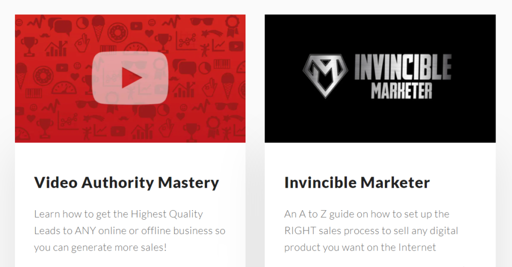 Aaron Chen Courses Video Authority Mastery and Invincible Marketer